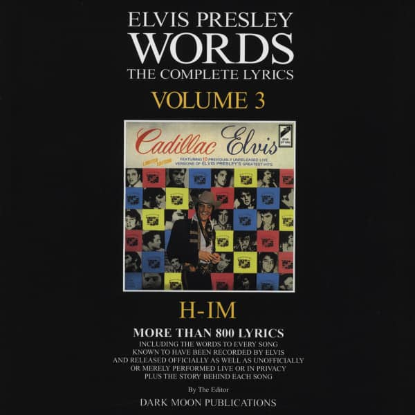 Words Vol.03 - The Complete Lyrics H-IM