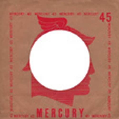 (50) Mercury, USA - 45rpm record sleeve - 7inch Single Cover