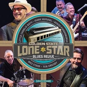 Golden State Lone Star Blues Revue (LP)