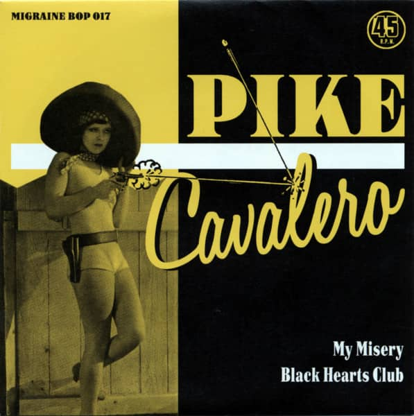 My Misery b-w Black Hearts Club 7inch, 45rpm, PS