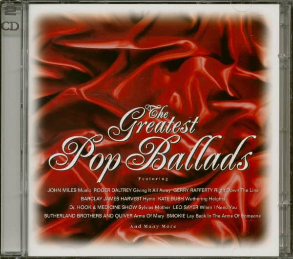 The Greatest Pop Ballads (2-CD)