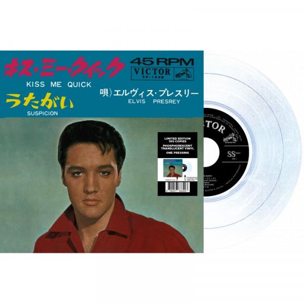 Kiss Me Quick - Suspicion (7inch, 45rpm, Clear Vinyl, Ltd.)