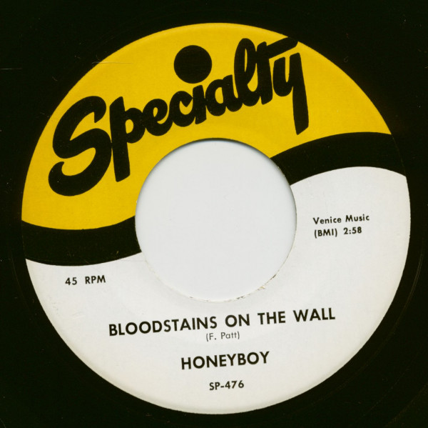 Bloodstains On The Wall - My Time Ain't Long (7inch, 45rpm)