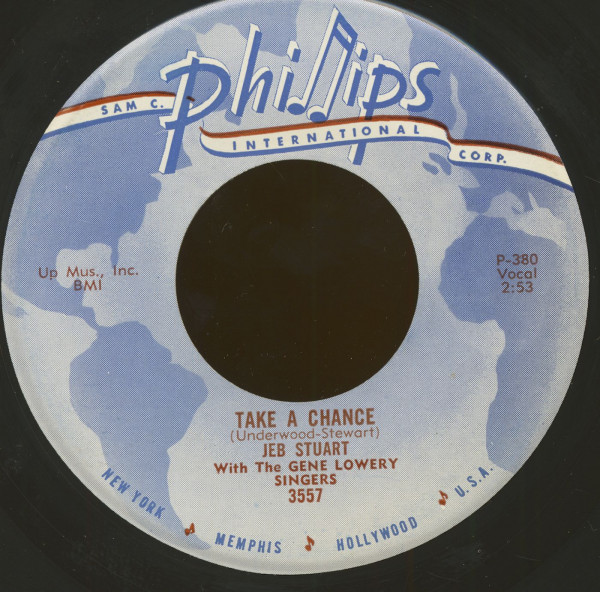 Take A Chance - Sunny Side Of The Street (7inch, 45rpm)