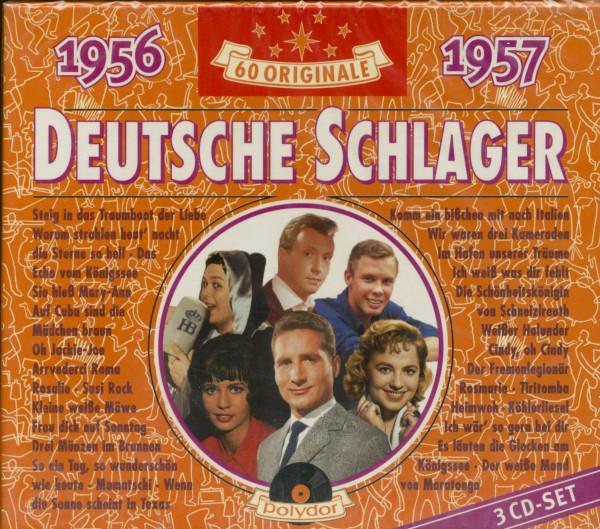 Deutsche Schlager 1956-1957 (3-CD)