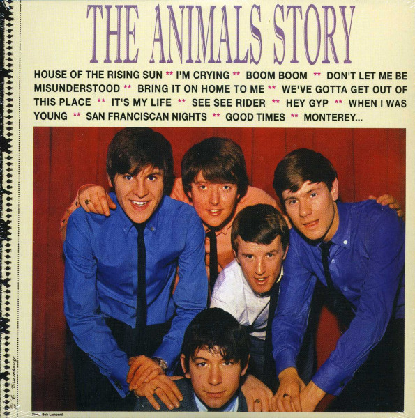 Animals The Animals Story - Papersleeve