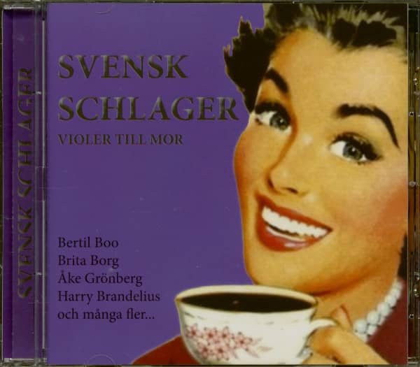 Svensk Schlager - Violer Till Mor (CD)