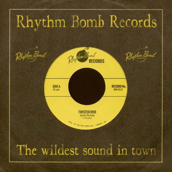 Get On The Train - Rattle Shakin' Mama (7inch, 45rpm)