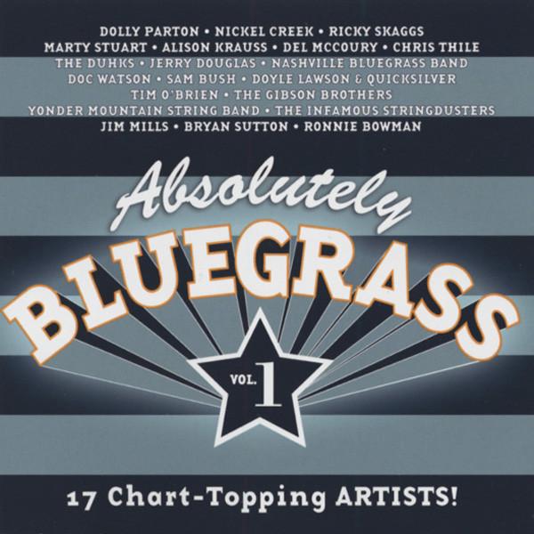 Va Absolutely Bluegrass - 17 Chart Topping Arti