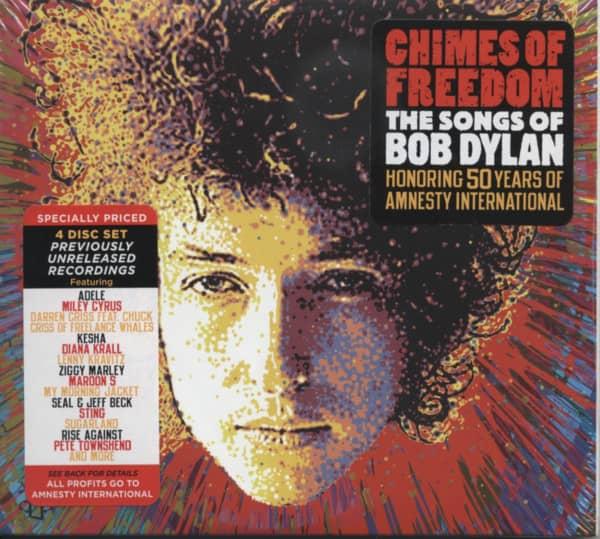 Va Chimes Of Freedom: Songs Of Bob Dylan (4-CD)