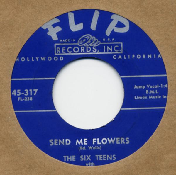 Send Me Flowers b-w Afar Into The Night 7inch, 45rpm