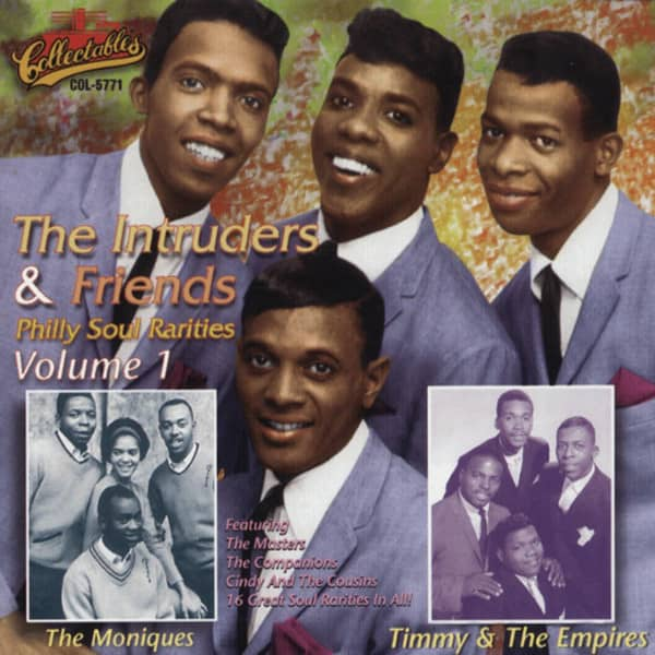 Intruders & Friends Philly Soul Rarities Vol.1
