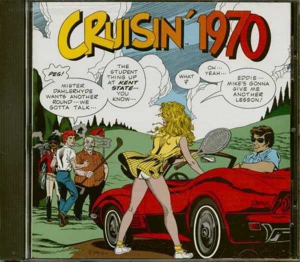 Cruisin' 1970 - History Of Rock'n'Roll Radio (CD)
