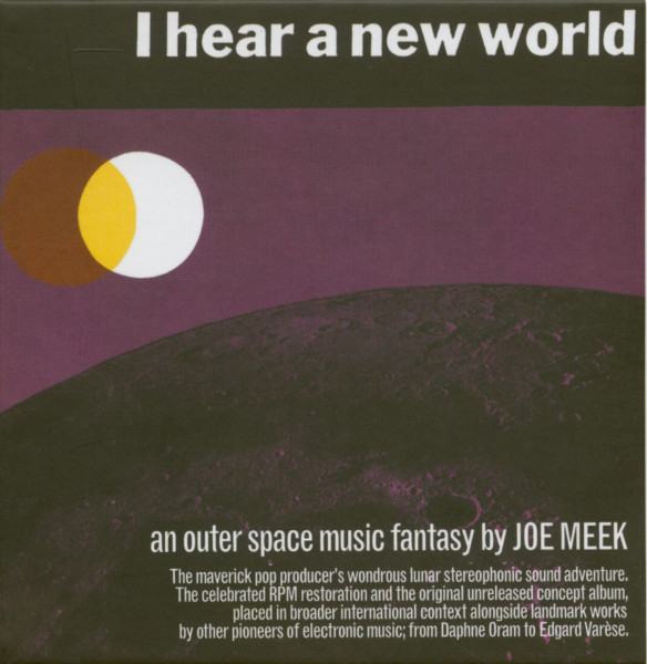 I Hear A New World - An Outer Space Music Fantasy (3-CD)