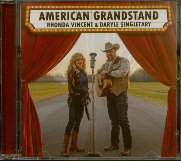 Rhonda Vincent & Daryle Singletary - American Grandstand (CD)