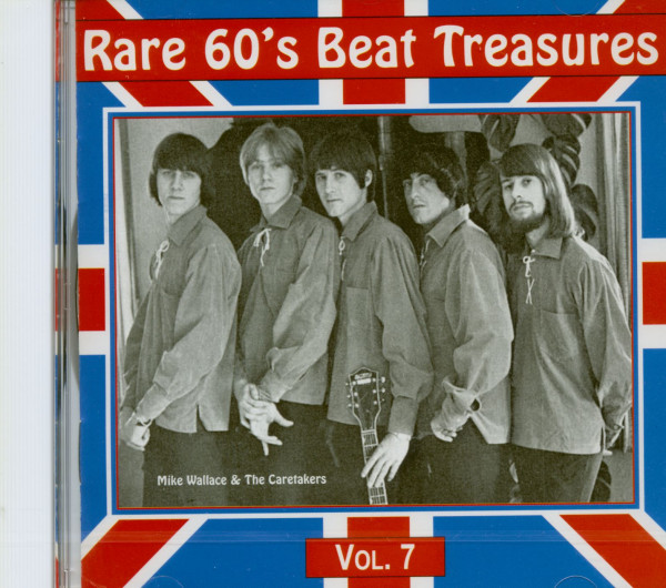 Rare 60's Beat Treasures, Vol.7 (CD)