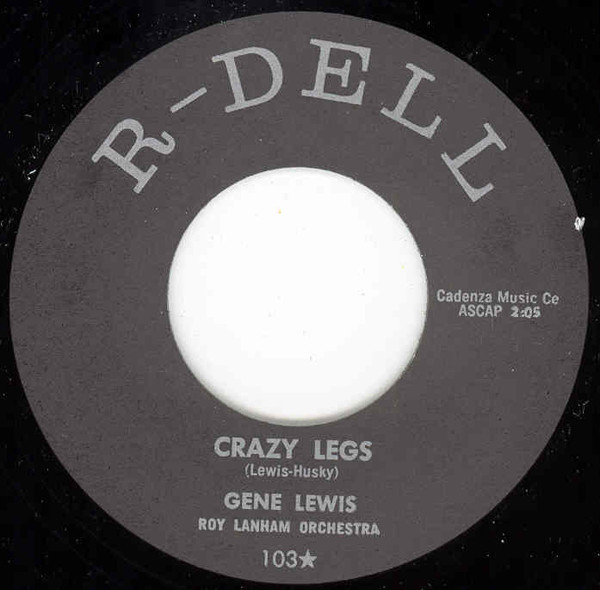 Crazy Legs b-w S'Posin'You Were Mine 7inch, 45rpm