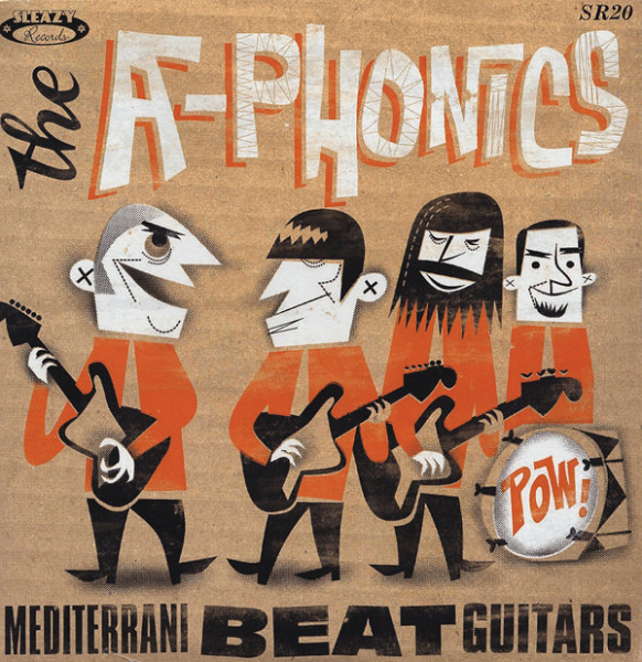 Mediterrani Beat Guitars 7inch, 45rpm, PS EP