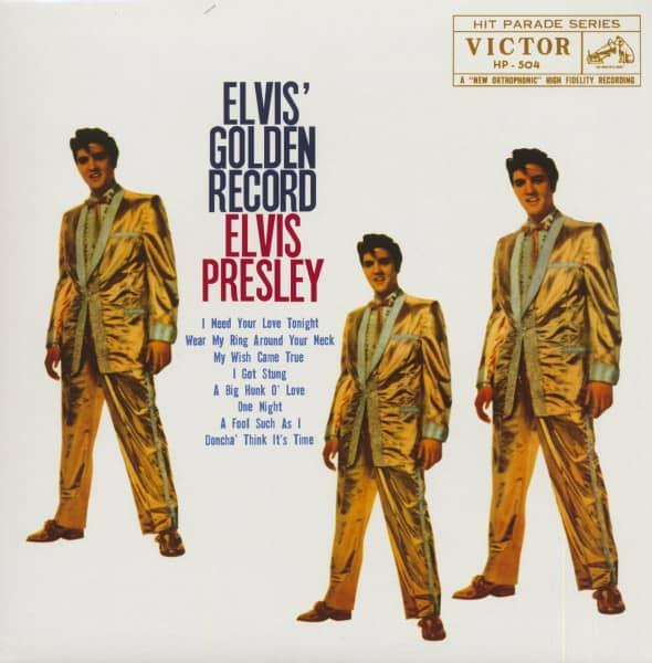 Elvis' Golden Record (LP, 10inch, Pink Vinyl, Ltd.)