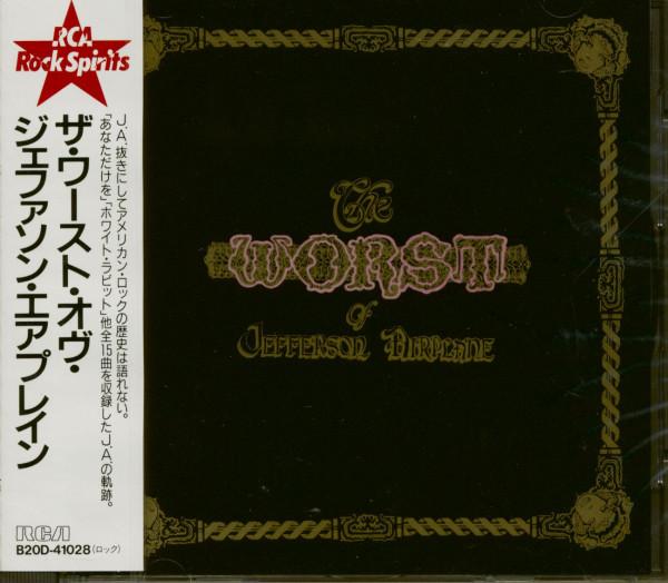 The Worst Of Jefferson Airplane (CD Japan)