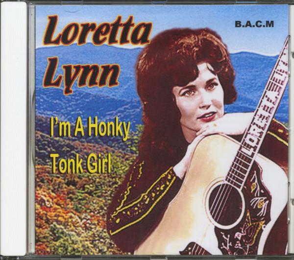 I'm A Honky Tonk Girl (CD)