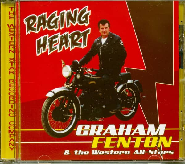 Raging Heart (& The Western All-Stars) (CD)