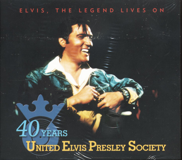 Elvis, The Legend Lives On - 40th Anniversary UEPS (CD)