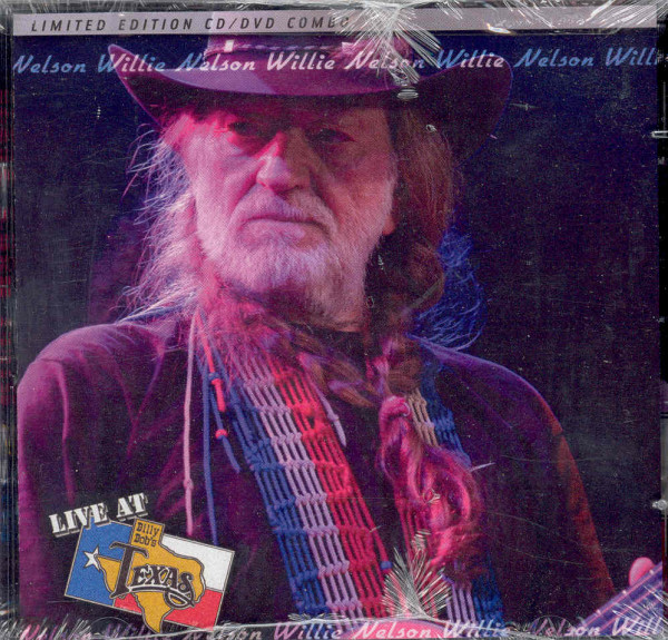 Nelson, Willie Live At Billy Bob's Texas - CD&DVD Set