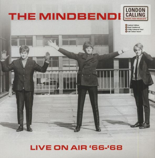 Live On Air 66-68 (LP, 180g Red Vinyl, Ltd. & Numbered)