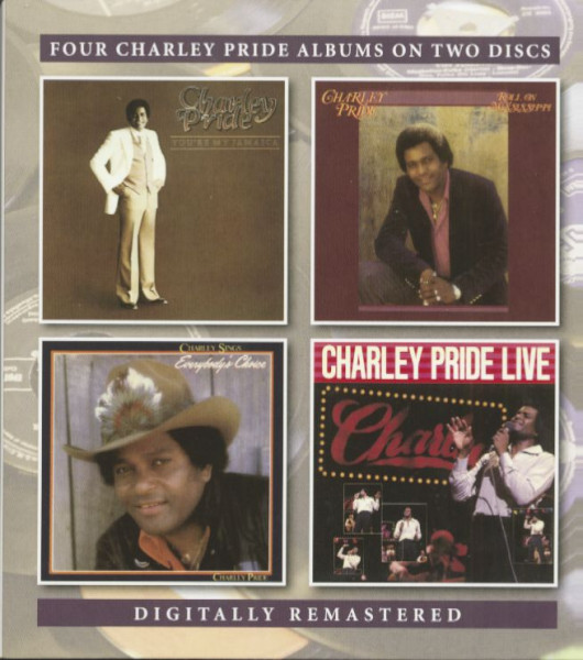 You're My Jamaica - Roll On Mississippi - Charley Sings Everybody's Choice - Charlie Pride Live (2-CD)