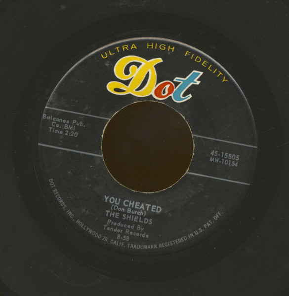 You Cheated - That's The Way It's Gonna Be (7inch, 45rpm)