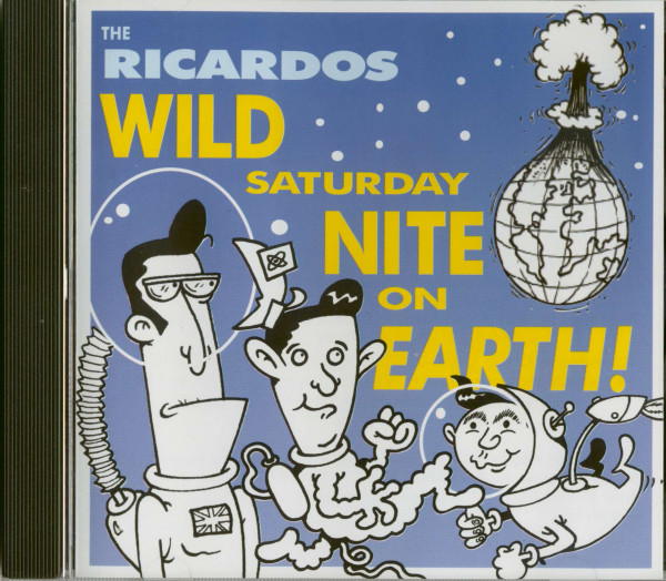 Wild Saturday Night On Earth (CD Album)