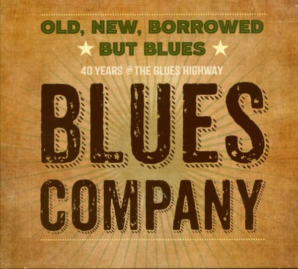 Old, New, Borrowed But Blues (CD)