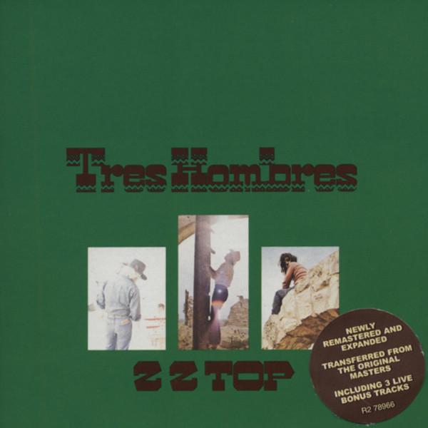 Zz Top Tres Hombres...plus Rmst.