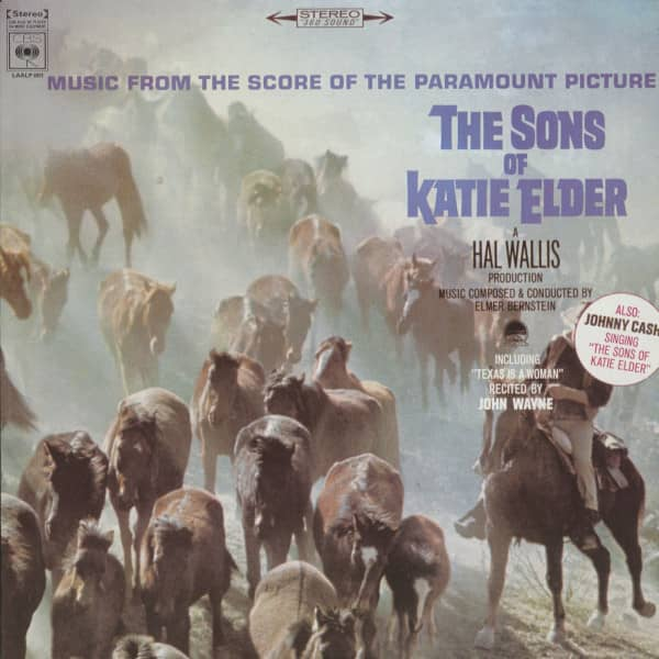 The Sons Of Katie Elder - Soundtrack (LP)