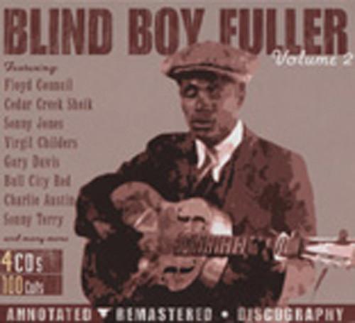 Fuller, Blind Boy Blind Boy Fuller Vol.2 (4-CD Box)