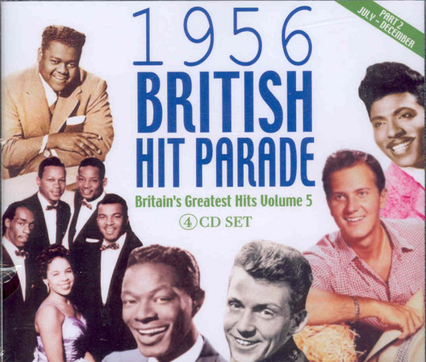 Vol.2, 1956 British Hit Parade (4-CD)