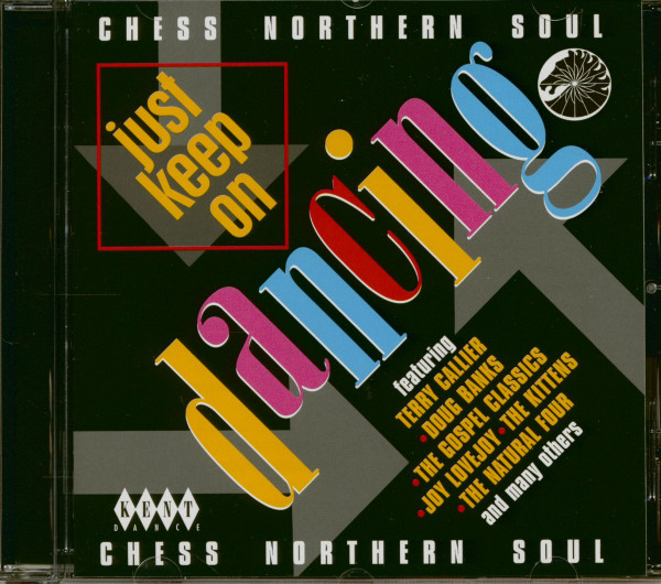 Just Keep On Dancin - Chess Northern Soul (CD)