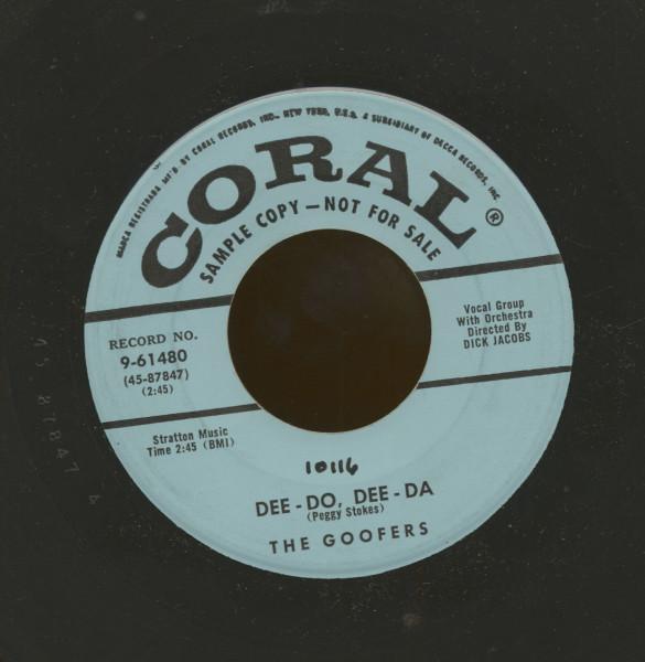 Dee-Do, Dee-Da - What Does That Dream Mean (7inch, 45rpm)