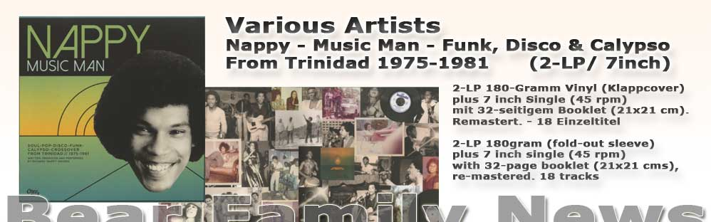 Nappy - Music Man - Funk, Disco & Calypso From Trinidad 1975-1981(2-LP/ 7inch)