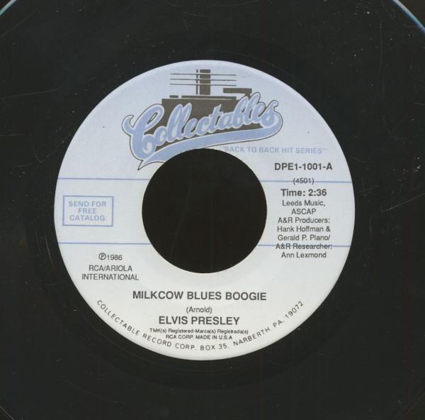 Milkcow Blues Boogie - You're A Heartbreaker (7inch, 45rpm)