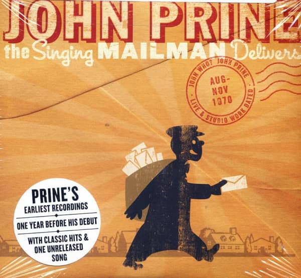 Prine, John The Singing Mailman Delivers - Early (2-CD)