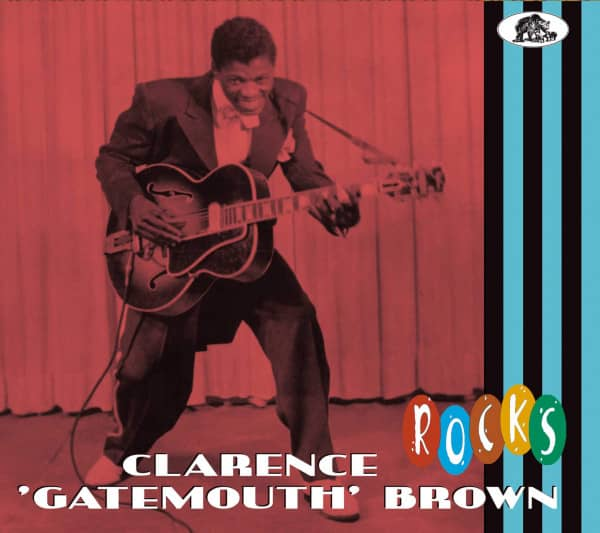 Clarence 'Gatemouth' Brown - Rock (CD)