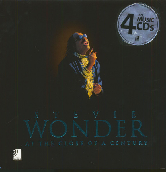 Stevie Wonder - At The Close Of A Century (Book & 4CD)