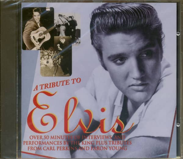 A Tribute To Elvis Presley (CD)