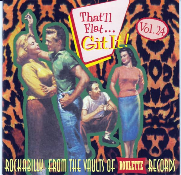 Vol.24 - Rockabilly From The Vaults Of Roulette Records (CD)