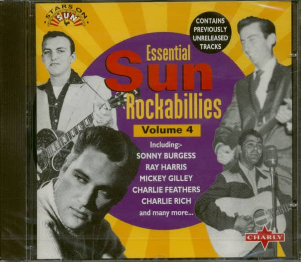Essential Sun Rockabillies Vol.4 (CD)
