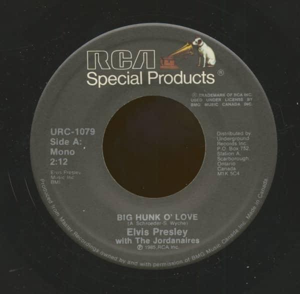 A Big Hunk O' Love - My Wish Came True (7inch, 45rpm)