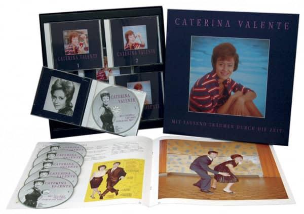 Valente, Caterina Mit 1000 Träumen durch die Zeit 6-CD &44-BOOK