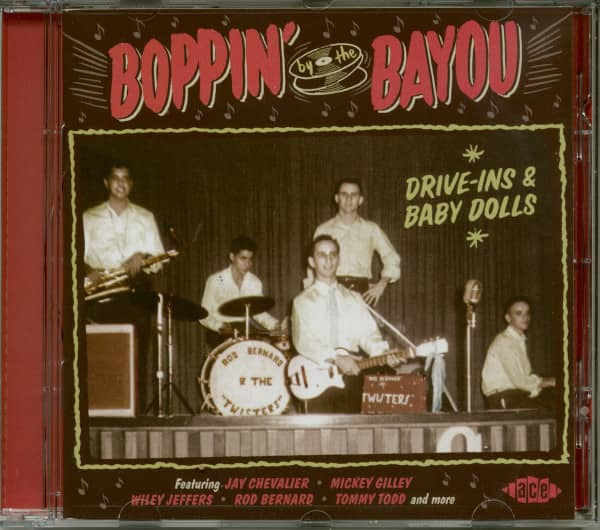 Boppin By The Bayou: Drive-Ins & Baby Dolls (CD)